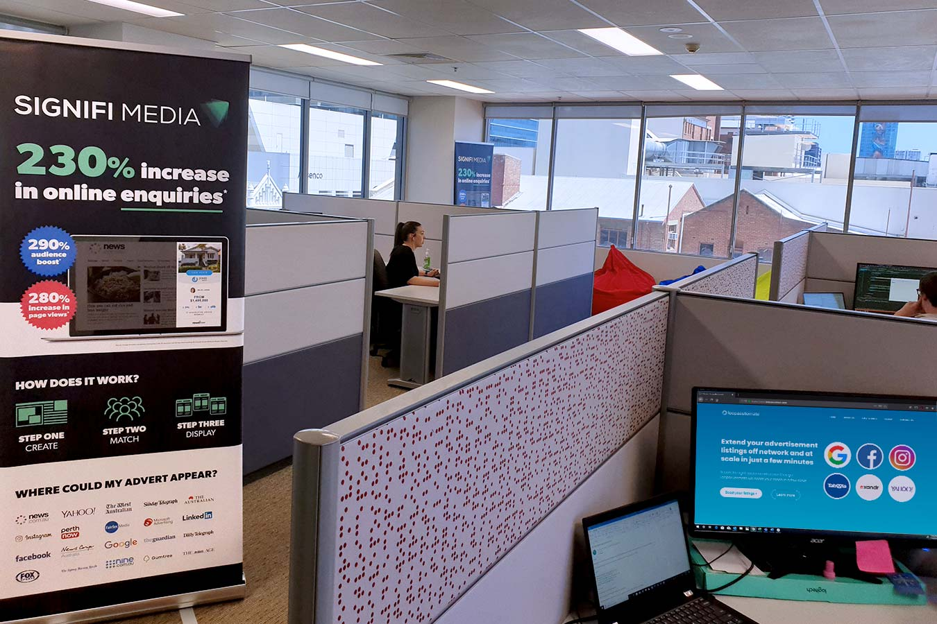 We have a new office!
